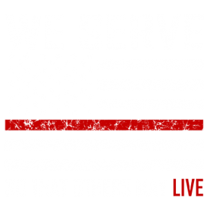 WE SERVE RED LINE