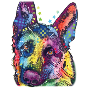 GERMAN SHEPHERD NEON