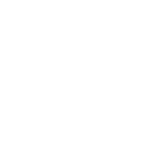 LITTLE VOICE INSIDE HEAD