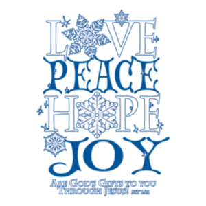 LOVE PEACE HOPE JOY