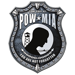 POW MIA SHIELD