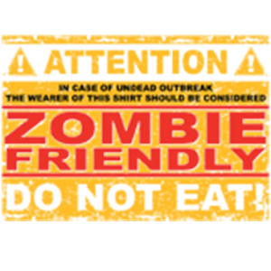 ZOMBIE FRIENDLY