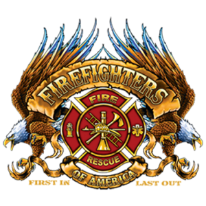 FIREFIGHTERS OF AMERICA -SHIELD