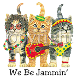 WE BE JAMMIN-CAT  (F)