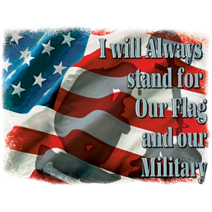 STAND FOR OUR FLAG
