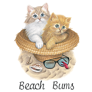 BEACH BUMS CATS IN HAT (YOUTH)