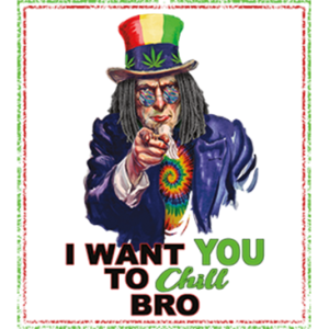 I WANT YOU TO CHILL BRO