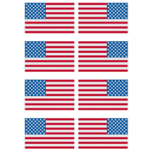 FLAG SLEEVE 3X2 - LEFT AND RIGHT FACING