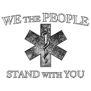 WE THE PEOPLE EMT LOGO