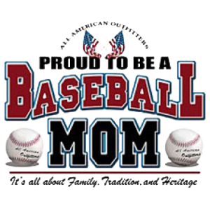 PROUD BASEBALL MOM   16