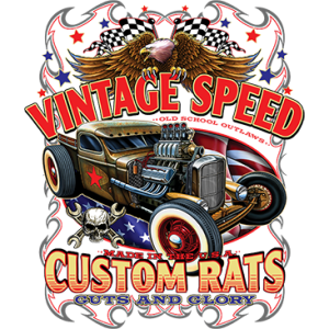 VINTAGE SPEED CUSTOM RATS