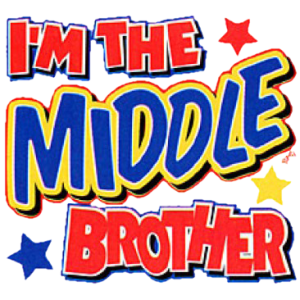 I'M THE MIDDLE BROTHER (Y)  13