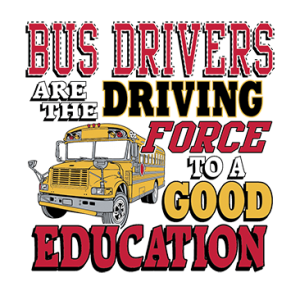 BUS DRIVERS DRIVING FORCE