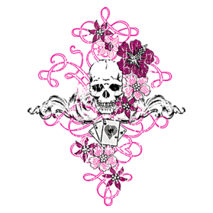 SKULL AND CARDS      27