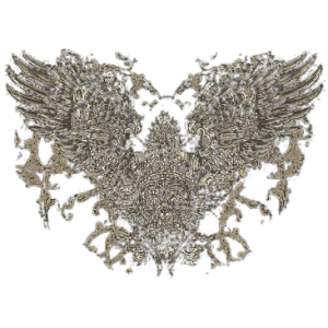 GOTH SKULLS AND WINGS      10