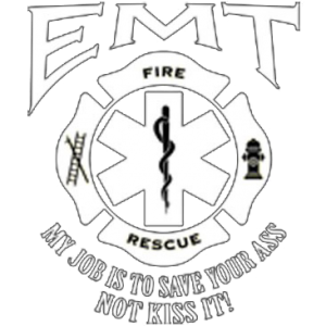 U.S. EMT JOB WHITE INK