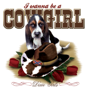 COWGIRL HOUND DOG