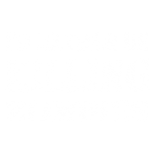 KILLING ZOMBIES WHITE