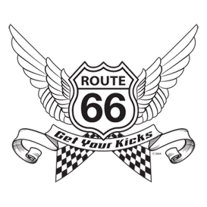 *ROUTE 66 WINGS BLACK