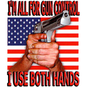 GUN CONTROL/BOTH HANDS