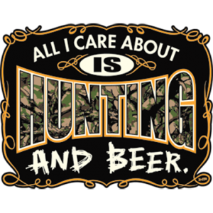 ALL I CARE IS HUNTING