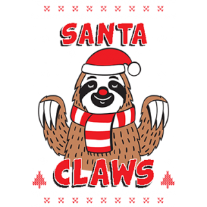 SANTA CLAWS SLOTH