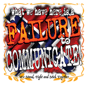 FAILURE TO COMMUNICATE!