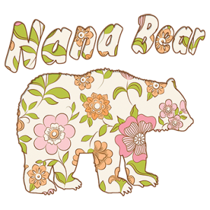 NANA BEAR FLOWER WALLPAPER