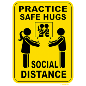 SAFE HUGS - SOCIAL DISTANCE