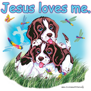 JESUS LOVES ME - DOGS YOUTH