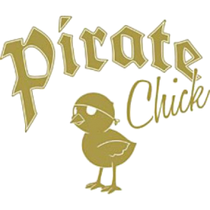 PIRATE CHICK~GOLD FOIL   27