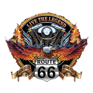 *ROUTE 66 MOTORCYCLE EAGLE    pkt