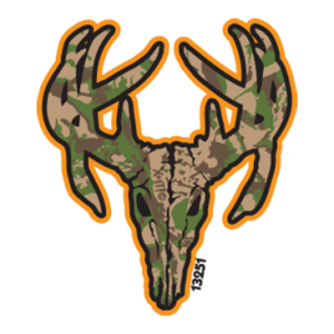 DEER SKULL PKT-NEON ORANGE