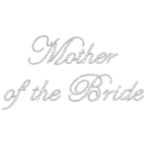MOTHER OF BRIDE RHINESTONE