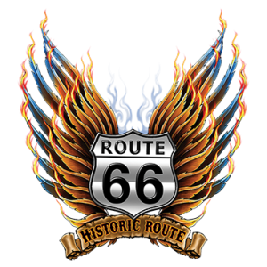 RT 66 HISTORIC SHIELD WINGS