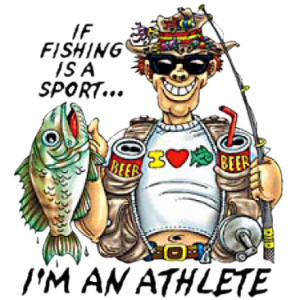 FISHING ATHLETE