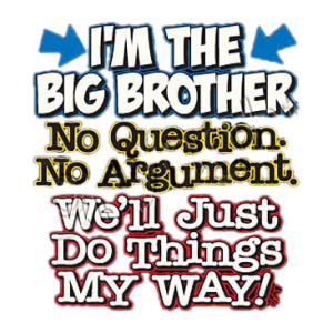 I'M THE BIG BROTHER   10