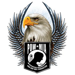 POW MIA EAGLE WINGS