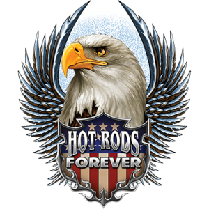 HOT RODS SHIELD EAGLE