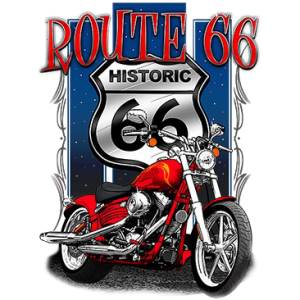 HISTORIC MOTORCYCLE ROUTE 66