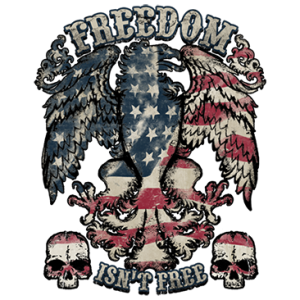 FREEDOM ISNT FREE EAGLE****