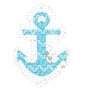 BLUE FABRIC ANCHOR