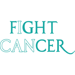 FIGHT CANCER TEAL