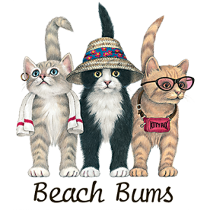 BEACH BUM CATS YOUTH