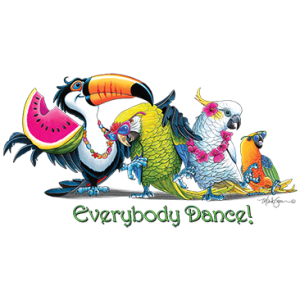 EVERYBODY DANCE TROPICAL BIRDS