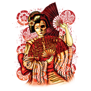 GEISHA SKELETON