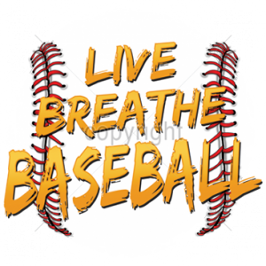 LIVE BREATHE BASEBALL
