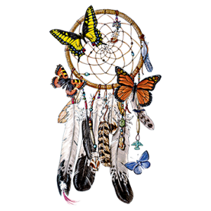 BUTTERFLY DREAM CATCHER
