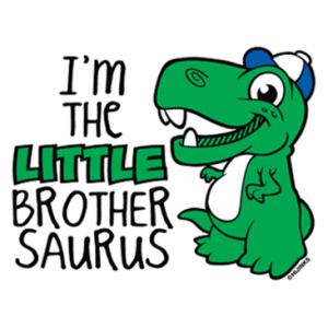 I'M THE LITTLE BROTHER SAURUS