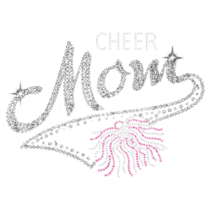 CHEER MOM RHINESTONE